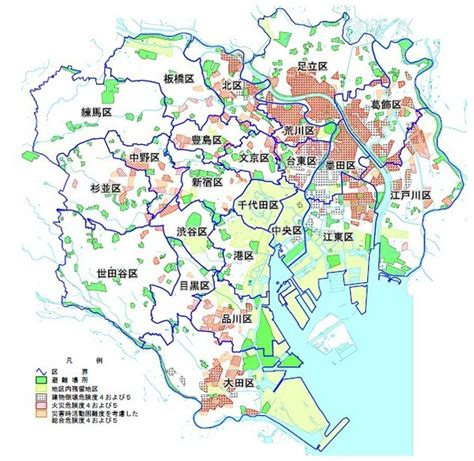 東京 都 中央 区 ハザード マップ