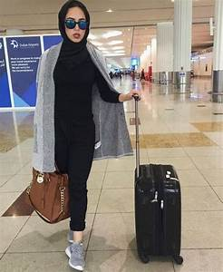 Hijabi traveling style u2013 Just Trendy Girls