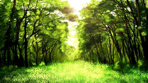 Spring Forest By Vronde On Deviantart