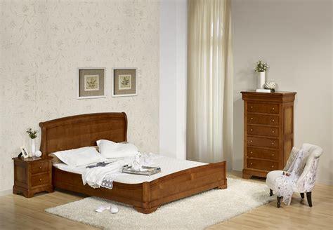 chambre louis philippe merisier massif lit 160x200 en merisier massif de style louis philippe