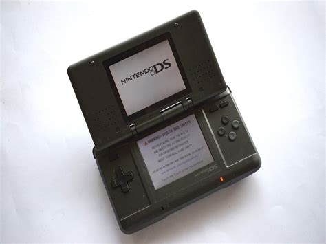 Console Nintendo Ds by Nintendo Ds Original Black Console Baxtros