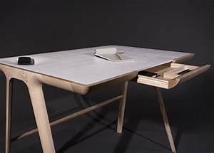 Bureau Contemporain Design : creation bois objet pratique esthetique accueil design et mobilier ~ Teatrodelosmanantiales.com Idées de Décoration