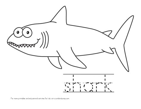 Kid Color Pages: Under the Sea Kid Color Pages Sharks