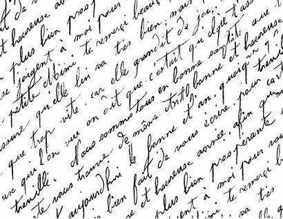 Script French Printable Paper Handwriting Antique Christmas
