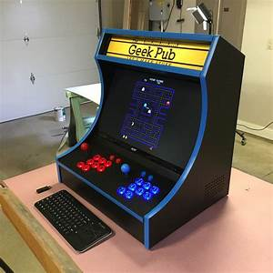 Bartop Arcade Cabinet Plans - The Geek Pub