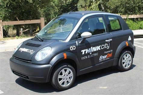 Think Cars : Think City Electric Car Gets Bigger American Batteries For