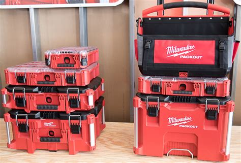 milwaukee packout tool boxes  storage system