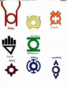Image Gallery lantern corps emotions