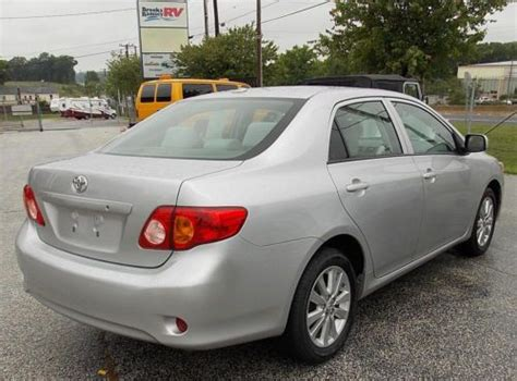 Buy Used 2010 Toyota Corolla 4 Door Sedan In White Marsh