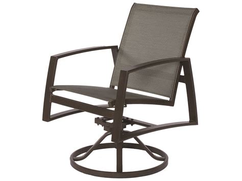slingback patio chairs that rock suncoast vision sling cast aluminum arm swivel rocker