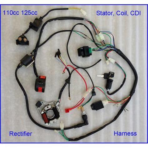Complete Electrics Quad Ohc Zongshen Loncin Magneto