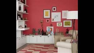 Living room Wallpaper borders decor ideas