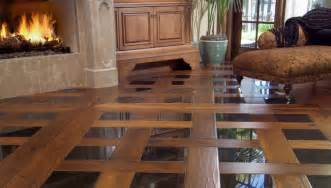 distressed plank flooring