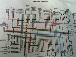 Yamaha Warrior 350 Wiring Specs Wiring Diagram Schematic In 2020