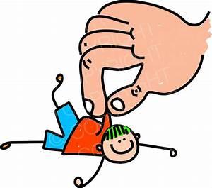Happy Cartoon Rescue Kid Toddler Art Prawny Clip Art ...