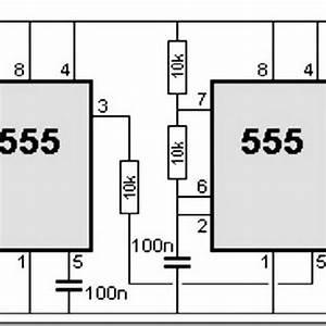 555 Timer Circuit Diagram Police Siren