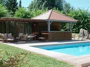 piscine et pool house piscines pinterest With photos pool house piscine