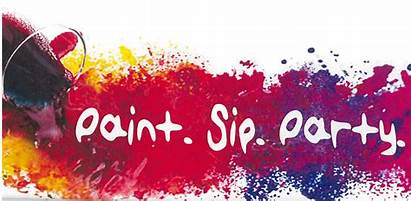 Sip Paint Ladies Party Night Auxiliary Painting