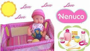 Bébé Corolle Youtube : nenuco poup e b b avec accessoires demo video de jouets pour enfants youtube ~ Medecine-chirurgie-esthetiques.com Avis de Voitures