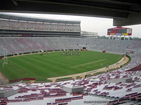 bryant denny stadium section uq rateyourseatscom