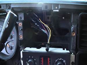 2005 Gmc Envoy Radio Wiring Harness