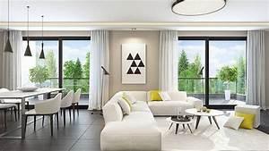 Comment Aménager Son Salon : comment am nager son salon dans un style moderne ~ Premium-room.com Idées de Décoration