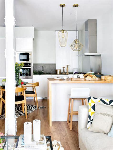 une petite cuisine ouverte sur le salon architecture