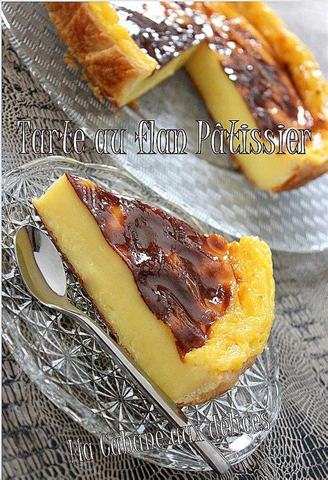 cuisinez de a à z tarte au flan patissier recettes faciles recettes