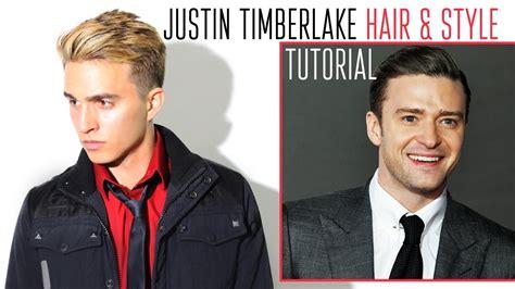 justin timberlake hair style by dre drexler youtube