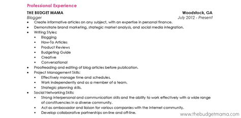 what do u put on resume perfect resume format