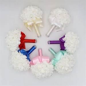 artificial flower bouquet wedding de mariage vintage