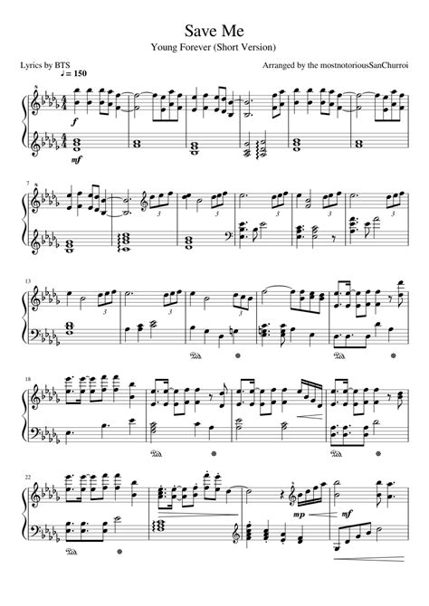 not angka pianika lagu all of me save me bts sheet for piano and keyboard musescore