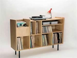 Meuble Pour Vinyle : les 25 meilleures id es de la cat gorie meuble vinyle sur pinterest meuble pour platine vinyle ~ Teatrodelosmanantiales.com Idées de Décoration