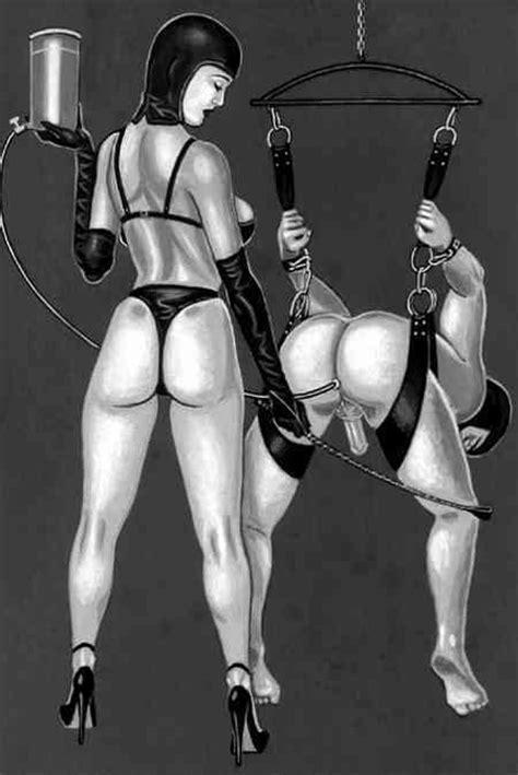 Femdom Punishment Bondage Enema Art Di 4