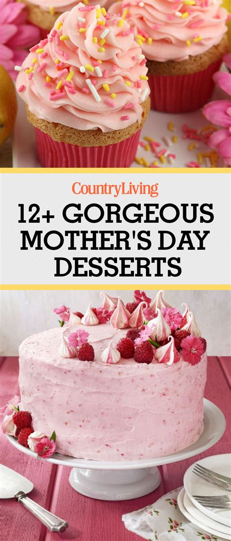 Even if you're not too confident in your artistic abilities, chris walks you through a couple of simple yet effective decoration ideas for a beautiful mother's day cake. 12 Best Mother's Day Desserts - Easy Ideas for Mothers Day Dessert Recipes