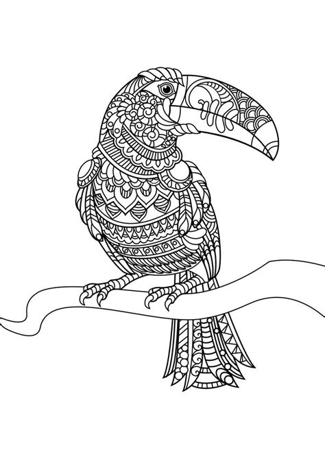 17 best images about adult colouring animals zentangles on