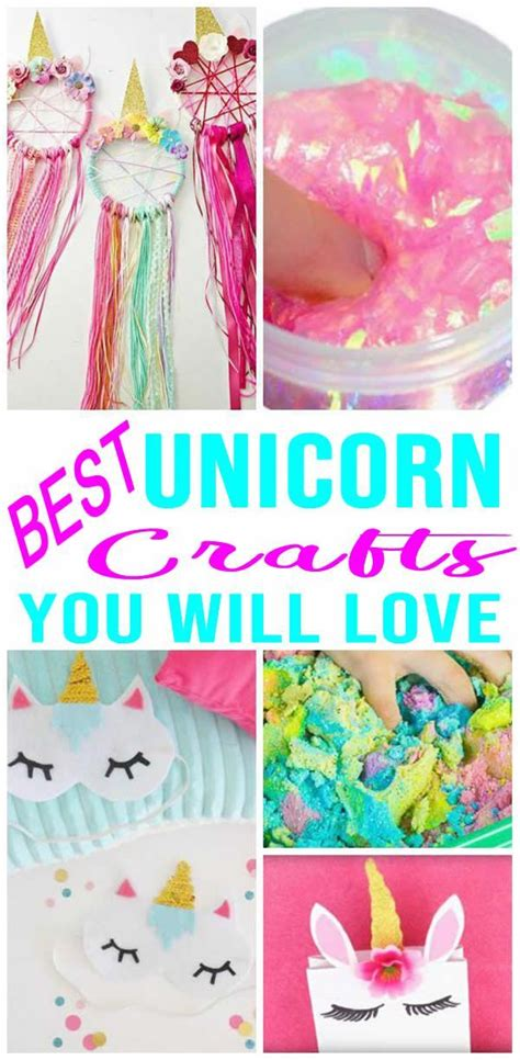 magical unicorn crafts  diy unicorn craft ideas