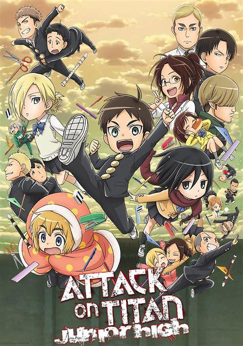 Attack on Titan: Junior High   TV fanart   fanart.tv
