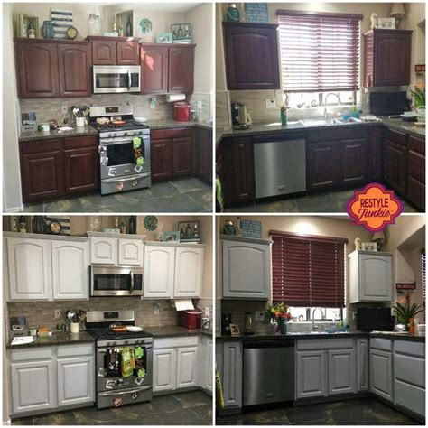 gray distressed kitchen cabinets is a diy cabinet painting class right for you restyle 3918