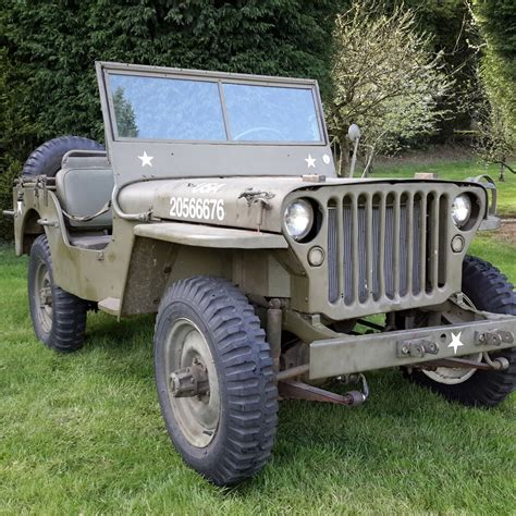 willys jeep ww  mb jeep military vehicle barn find ebay