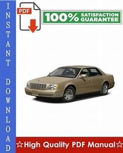 Cadillac Deville Workshop Service Repair Manual 2000