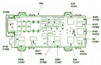 ford ranger xlt battery junction box fuse box diagram