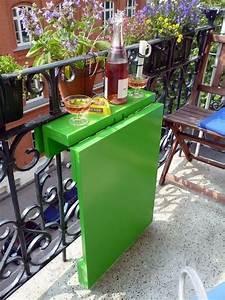 Meuble De Balcon : meubles gain de place table pour balcon balcons ~ Premium-room.com Idées de Décoration