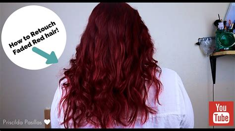 Faded Red Hair Retouch Youtube