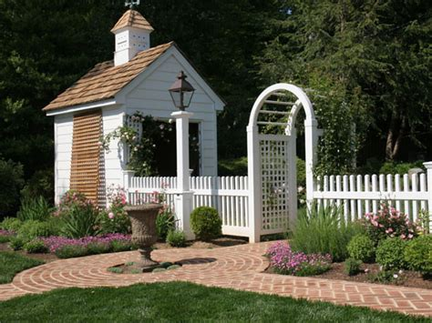 picket fence landscaping white picket fence with rose arbor traditional landscape other metro by land art design