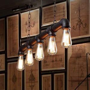 Luminaire Style Industriel : luxueux suspension luminaire industriel pour luminaire suspension style industriel ~ Teatrodelosmanantiales.com Idées de Décoration