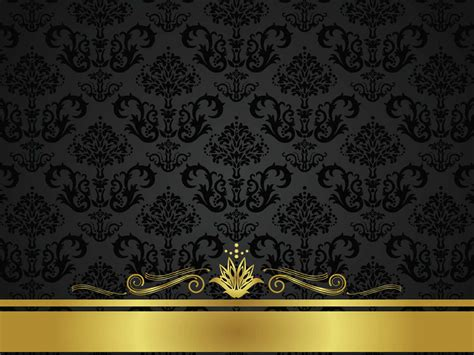 Gold Schwarz by Black And Gold Wallpaper Wallpapersafari