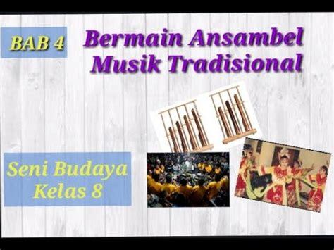 "Fs ansambel menampilkan sajian alat musik tradisional yang berasal dari sulawesi utara yaitu kolintang. Seni Budaya Kelas 8 ""Bermain Ansambel Musik Tradisional"" - YouTube"