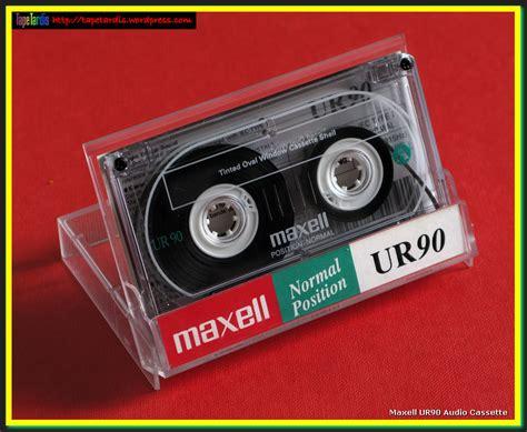 maxell cassette 1994 maxell ur90 audio cassette tardis