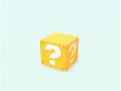 Question Block Animation Dribbble Sound Nintendo